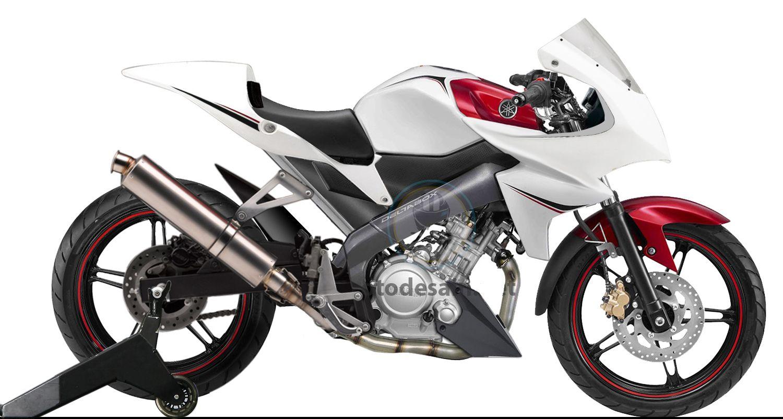 Modif Yamaha Vixion 2014 Bergaya Moge Modif Motor Engenharia Civil