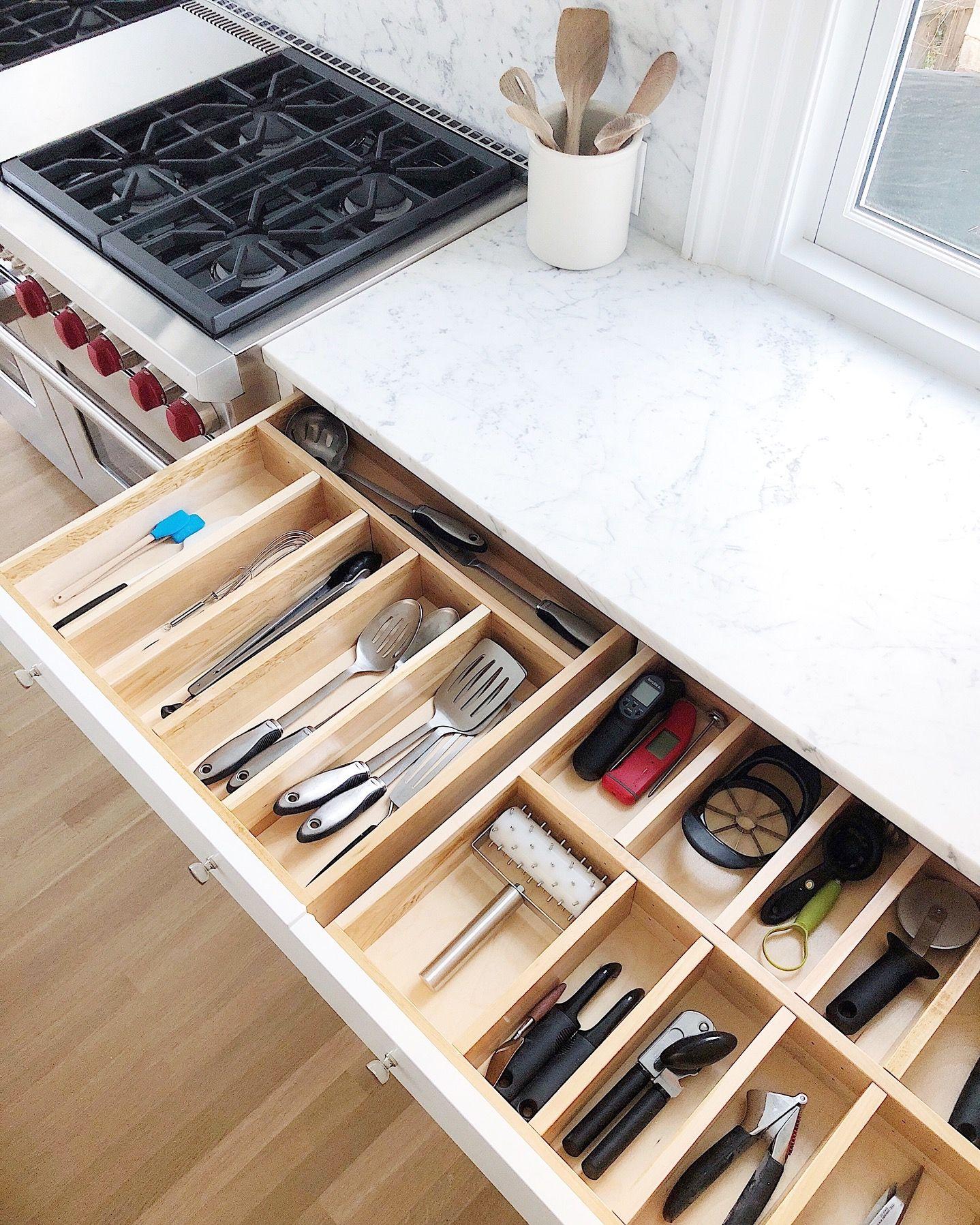 Shop Simple Kitchen Kitchen Organization Kitchen Drawer