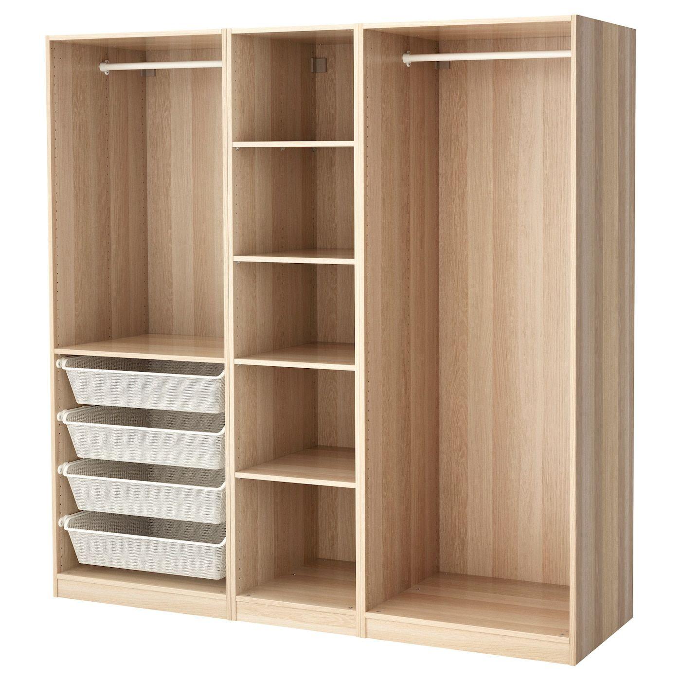 PAX Kleiderschrank Eicheneff wlas IKEA Deutschland