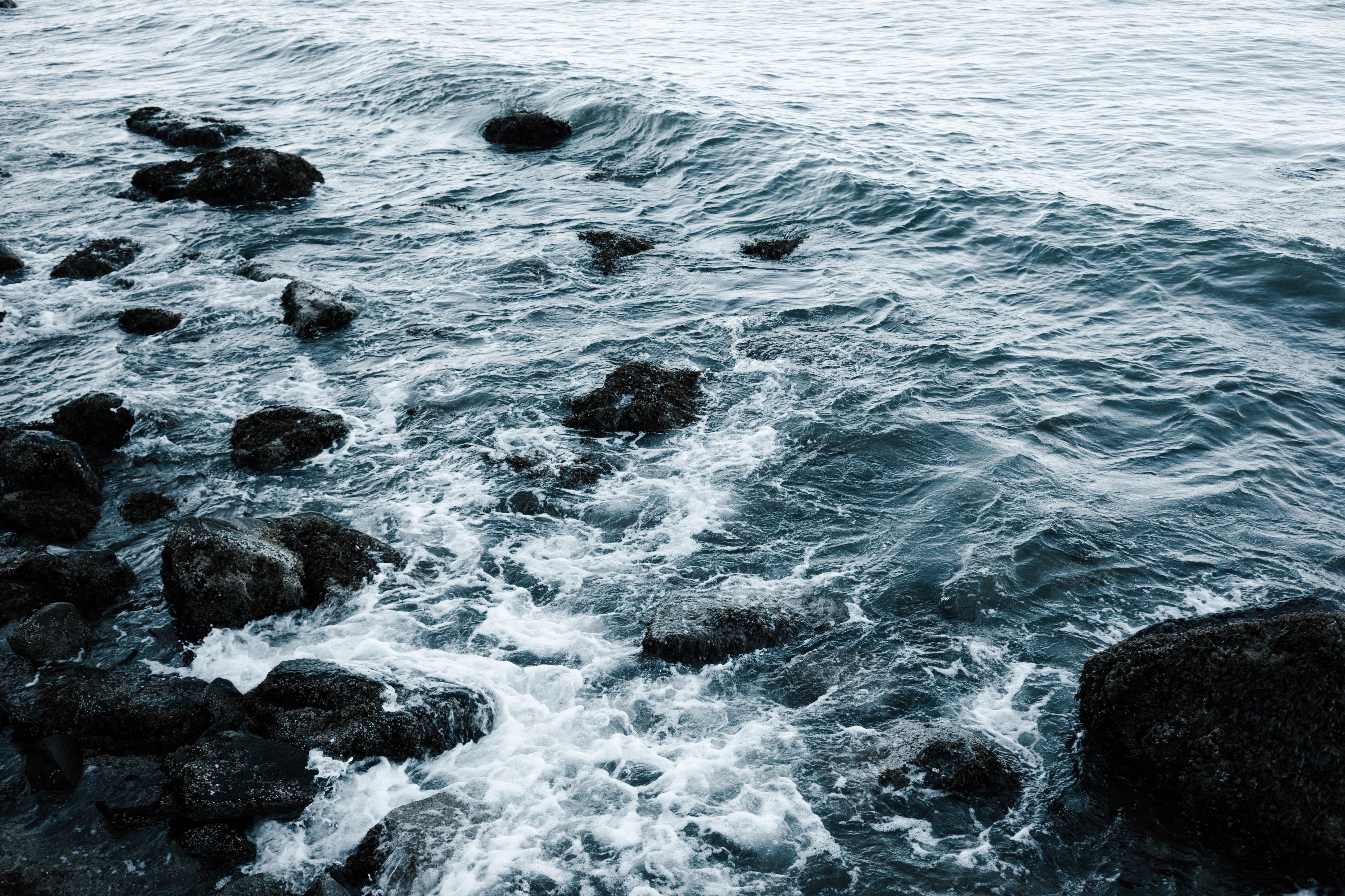 Beach Ocean Rock Sea Seascape Seashore Water Wave Discover Your Next Wallpaper Waves Photos Ocean Ocean Rocks