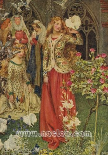 Eleanor F. Brickdale - The Idylls of the King