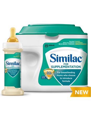 Similac Supplementation Simplepac For Breastfeeding Moms Who Want To Introduce Formula Similac Baby Formula Breastfeeding And Formula