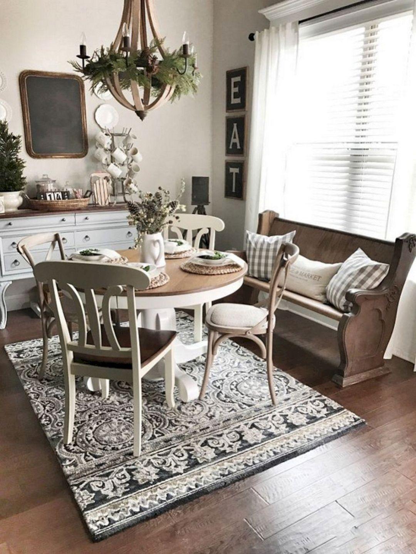 Best Farmhouse Style Ideas 40 Farmhouse Dining Room Table