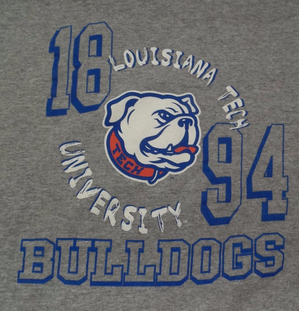 Louisiana Tech University TShirt Youth M Medium Bulldogs