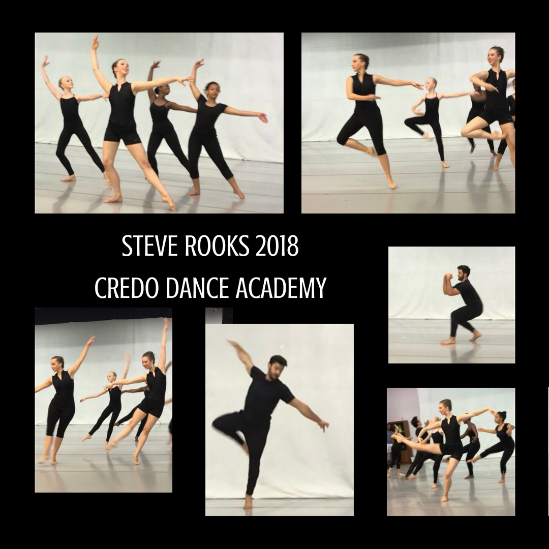 Steve Rooks Engaged Our Students In A Week Long Modern Ballet Intensive June 4 8 2018 At Credo Dance Academy The Stud Dance Instruction Dance Academy Student
