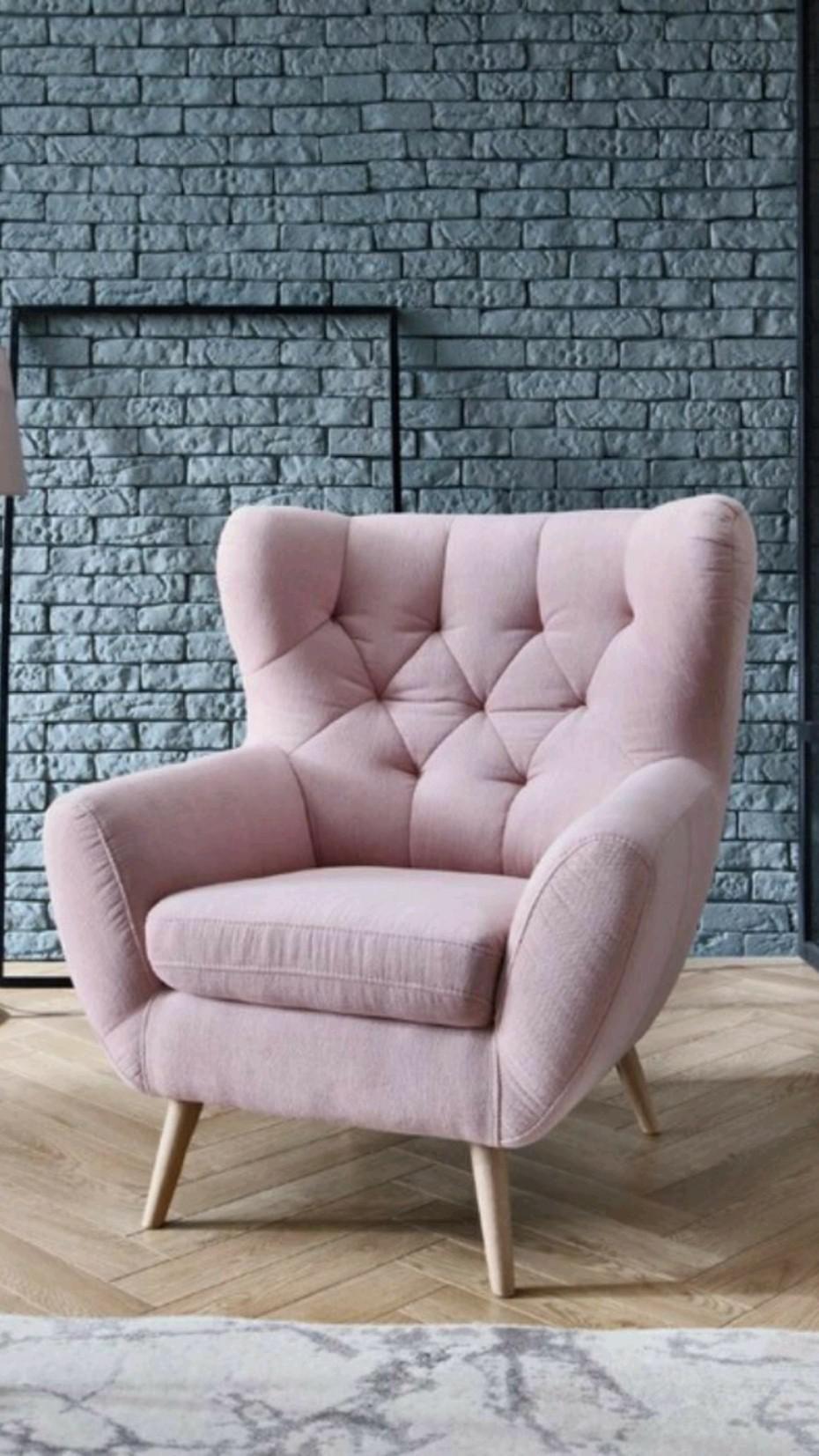 "Armino 42"" W Cotton Blend Down Cushion Armchair Body Fabric: Conversation Ivory"