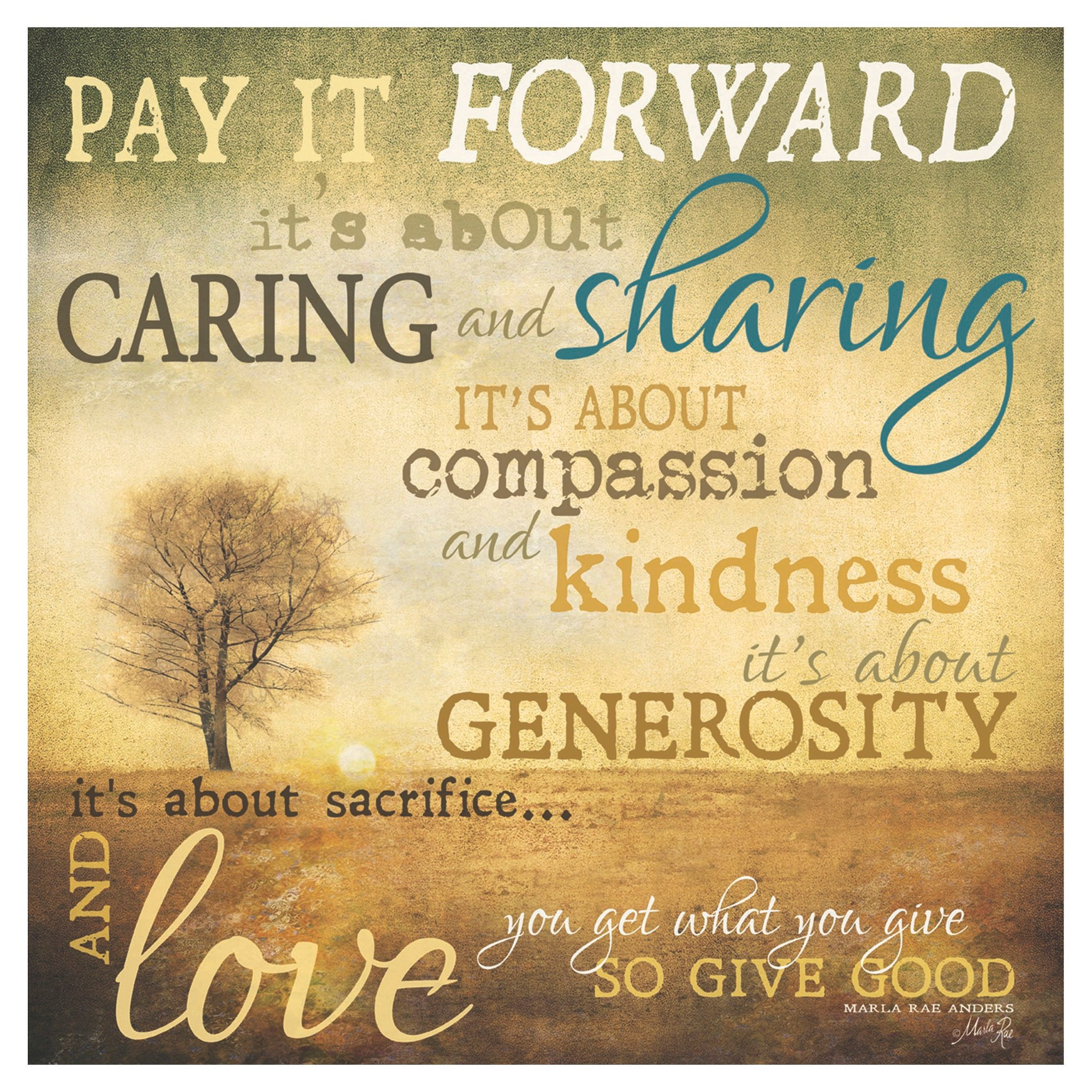 thirstystone pay it forward occasions trivet paying it forward