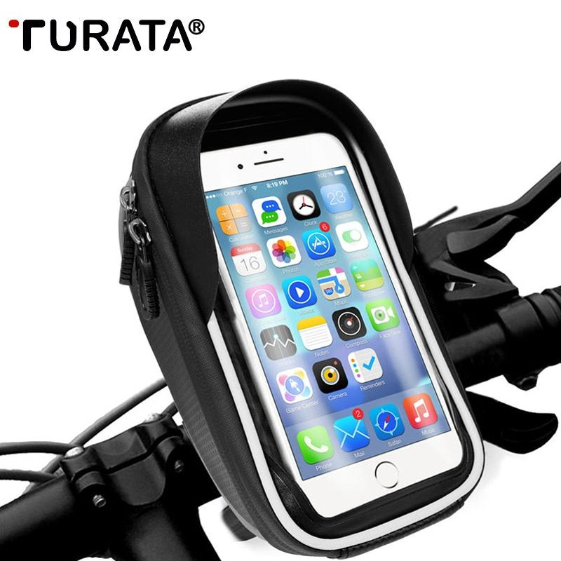 Turata Universal Bike Motorcycle Phone Holder Handlebar For All