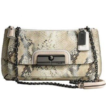 9835633b50 Kristen purse by Coach. PythonEmbossCoachingShoulder BagsMetallicPrintmakingOver  The Shoulder BagsLife CoachingTraining