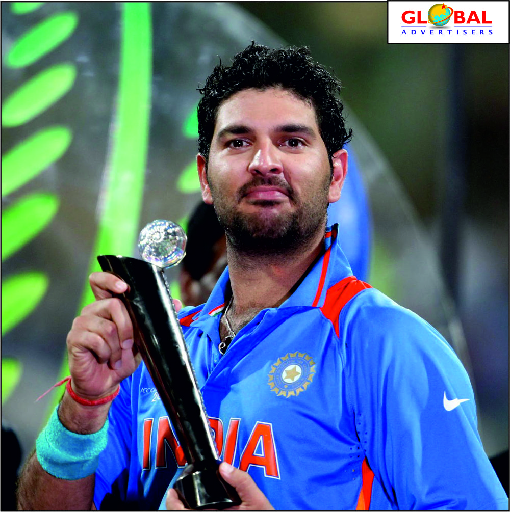Happy Birthday Yuvraj Singh The Real Fighter Yuvstrong12 Stay