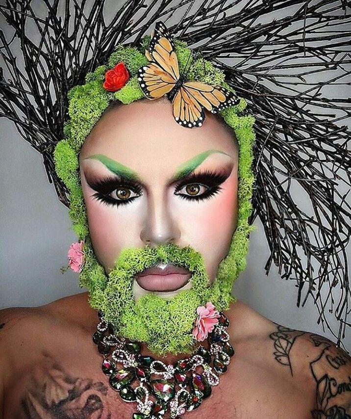 week2 drag makeup images I like the use of natural