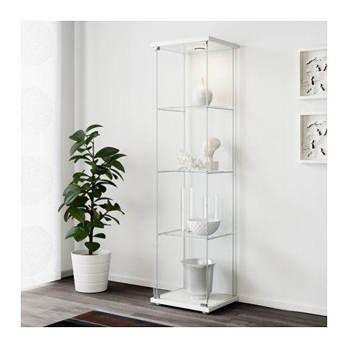 detolf glass door cabinet white glass doors doors and glass. Black Bedroom Furniture Sets. Home Design Ideas