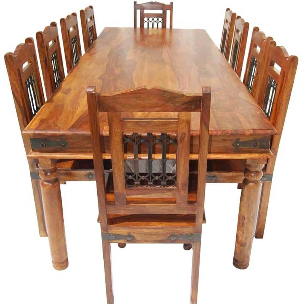 20++ Rustic dining table for 10 type