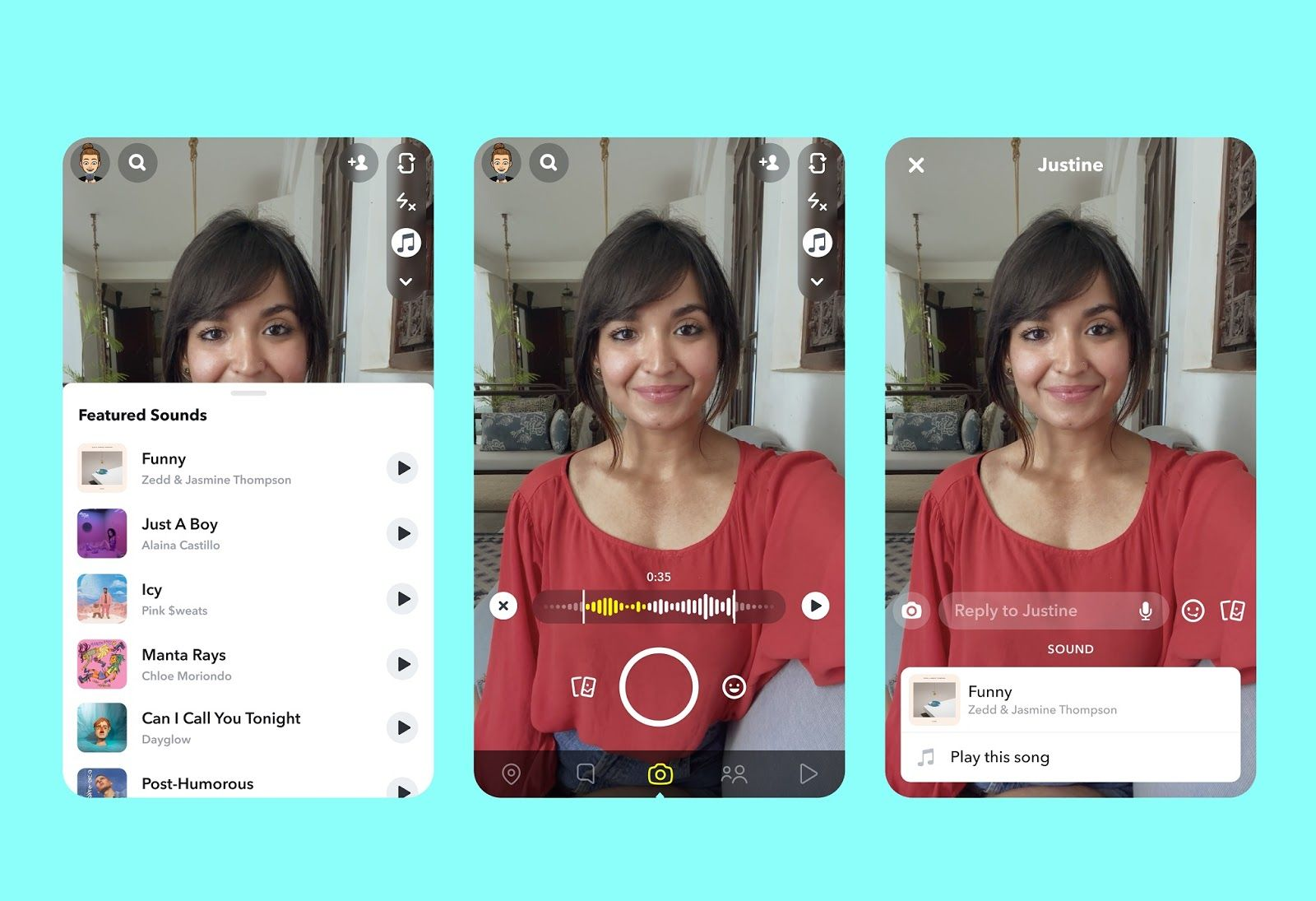 Snapchat Introduces Tiktok Like Music Feature Music Add Music Songs