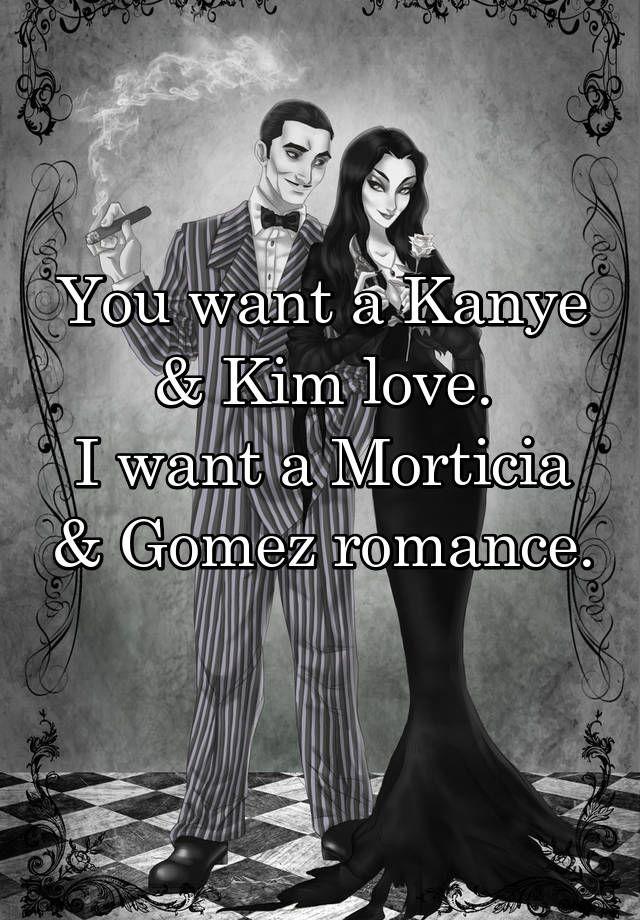 #relationshipgoals   True confessions, Morticia and gomez