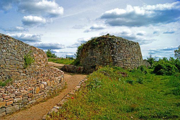 Muralla del Castro de Yecla la Vieja (Salamanca) (con imágenes ...