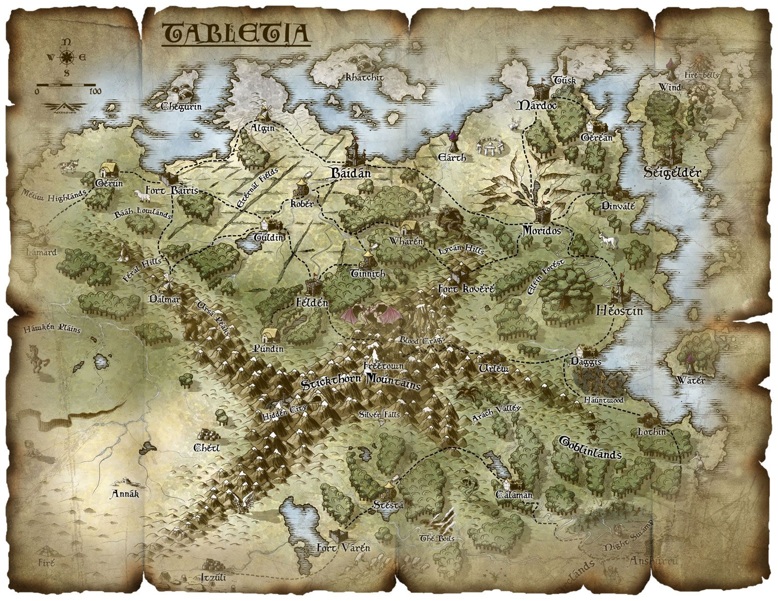 Ive seen this map developing ver the years as ascension has worked meet the judges free fantasy maps gumiabroncs Gallery