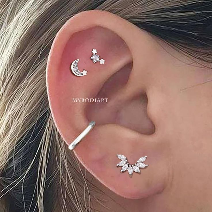 Constellation Moon Star Cartilage Helix Ear Piercing Jewelry Ideas for Women -  ...   - Ear Piercing - #cartilage #constellation #ear #Helix #ideas #jewelry #Moon #piercing #Star #women #constellationpiercing Constellation Moon Star Cartilage Helix Ear Piercing Jewelry Ideas for Women -  ...   - Ear Piercing - #cartilage #constellation #ear #Helix #ideas #jewelry #Moon #piercing #Star #women #constellationpiercing