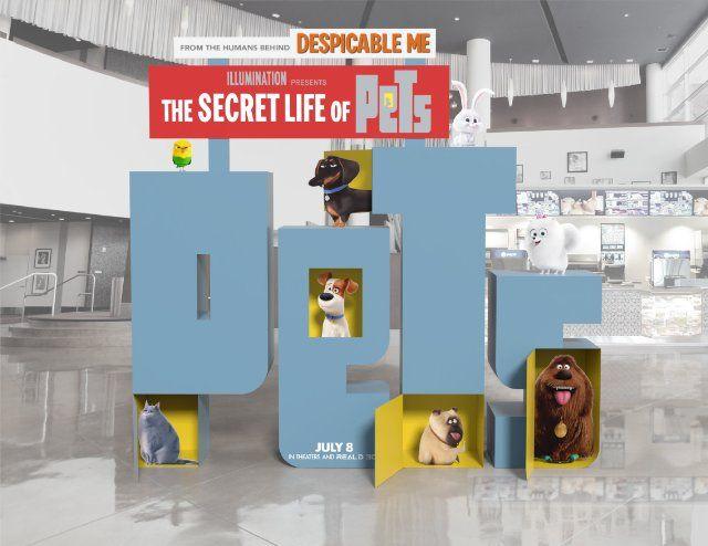 Latest Posters Secret Life Of Pets Secret Life Disney Typography