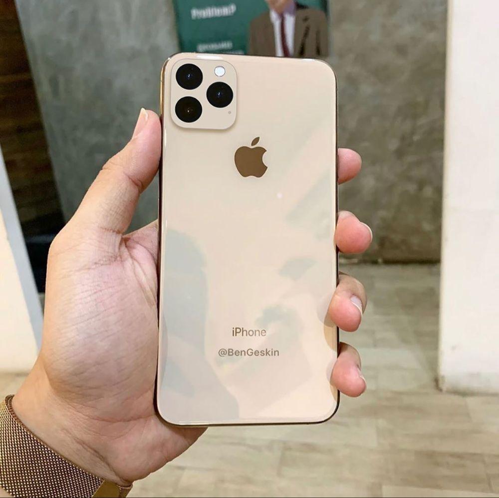 """Ben Geskin auf Instagram: """"11 iPhone 11 Max mit Dreifachobjektivkamerasystem 📷📷📷 (Modell) ⠀ Es sind noch 3 Monate, bis dieses iPhone-Design zu 100% bestätigt ist und…"""" – TB Sentaru"""