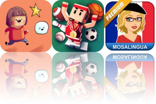 Today's Apps Gone Free Little Luca, Flick Champions