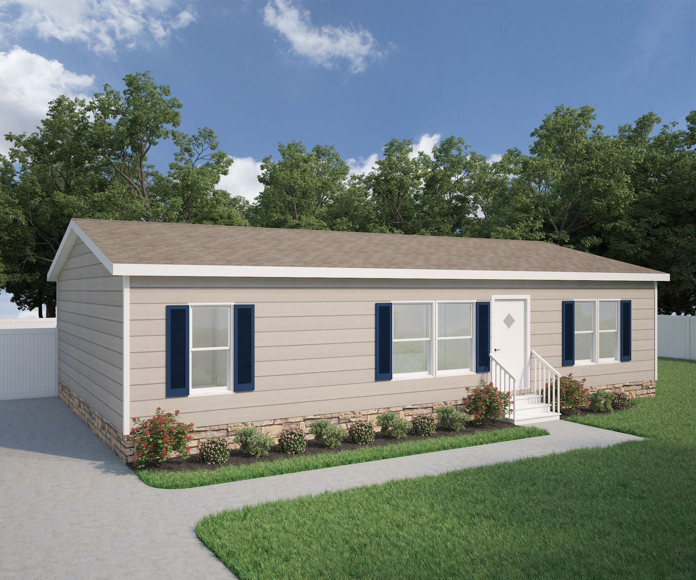 The Dawson, 3 Bedroom, 2 Bathroom Home Is Available For
