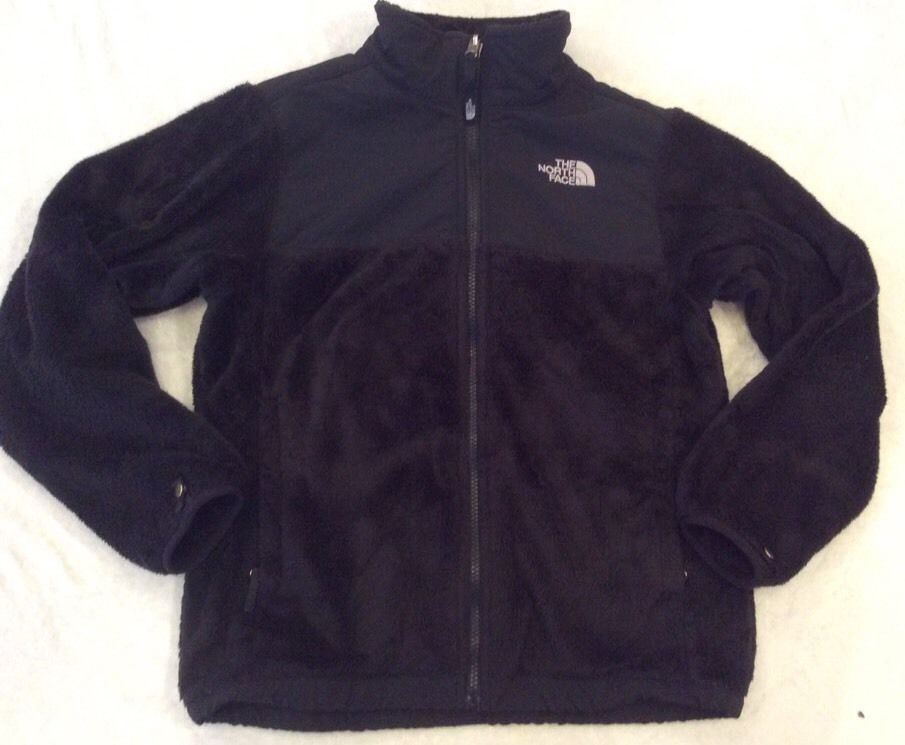 847fccb054b0 closeout the north face oso jacket fleece large girls black soft hoodie  spring coat thenorthface fleecejacket