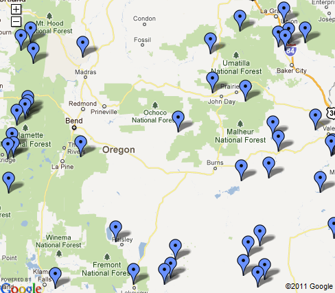 Campgrounds Burns Oregon OR | Campgrounds & RV Parks Guide