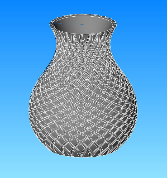 Jug pattern - made in Viacad Pro
