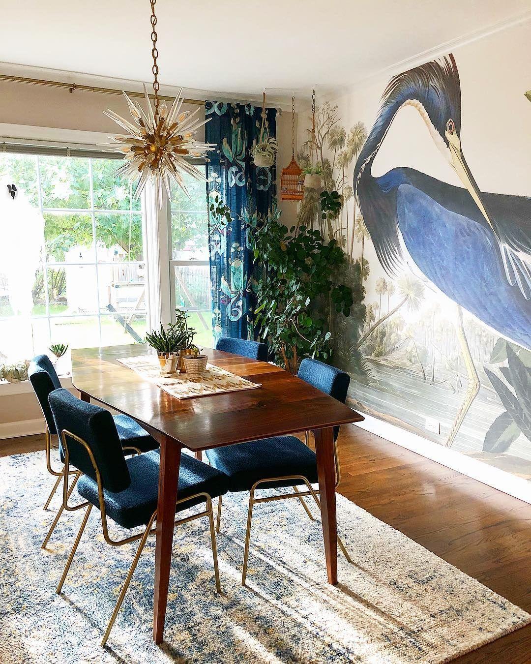 Blue Heron Wallpaper Heron Print Mural Muralswallpaper In 2020 Blue Heron Heron Wallpaper