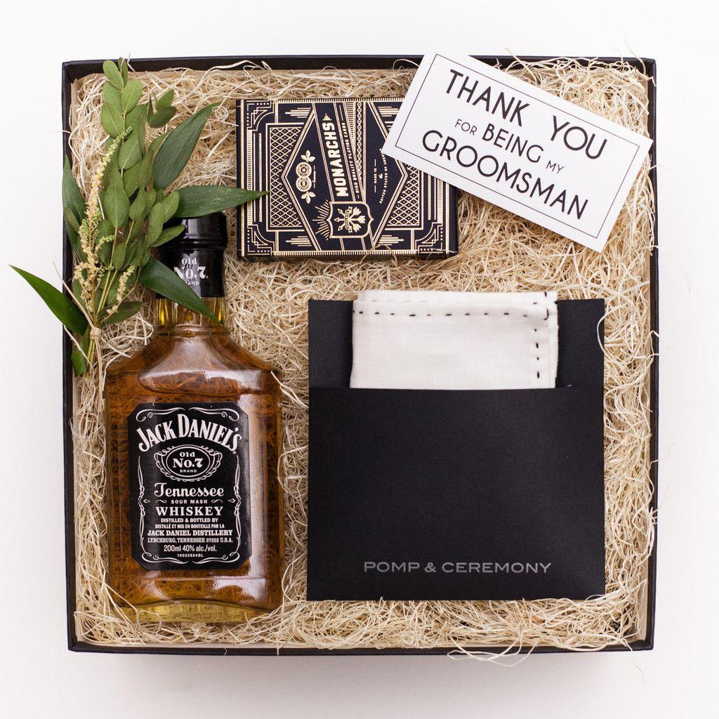 Thank You Gift Groomsman Gift Box Www