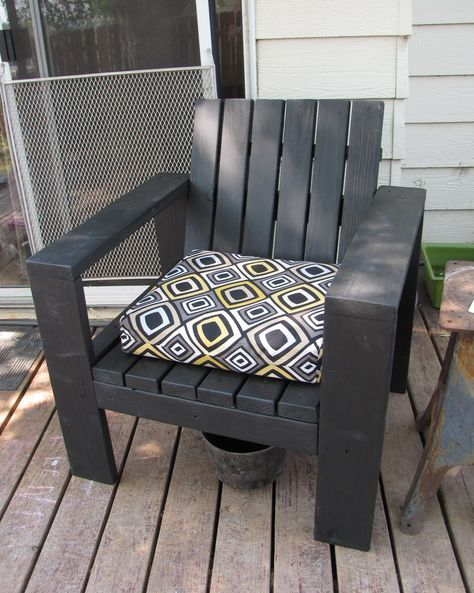 Simple Outdoor Lounge Chair Beefed Up Do It Yourself