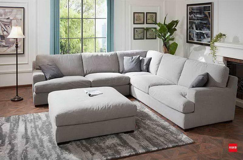 KUKAHOME #fabricsofa. Extreme Comfortable Large Size Fabric ...