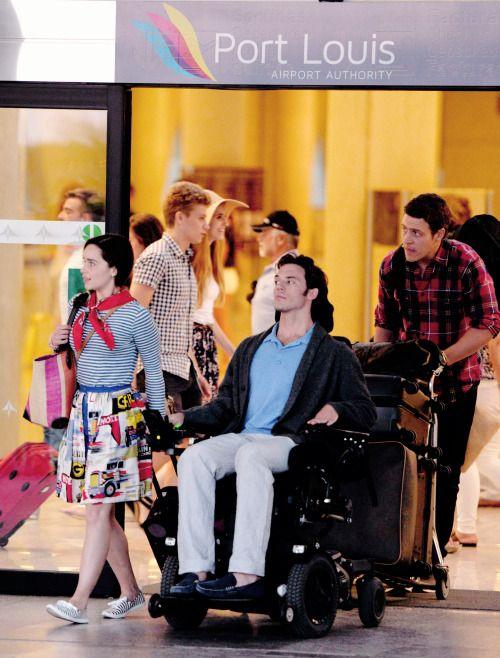 Sam dating guy in wheelchair