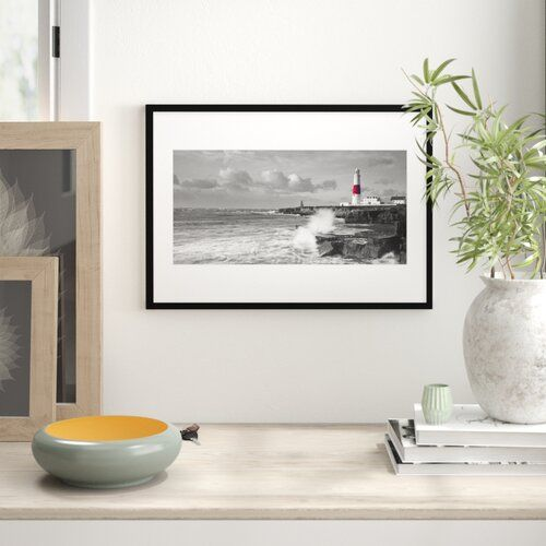 'Portland Bill Lighthouse, Dorset' Framed Photographic