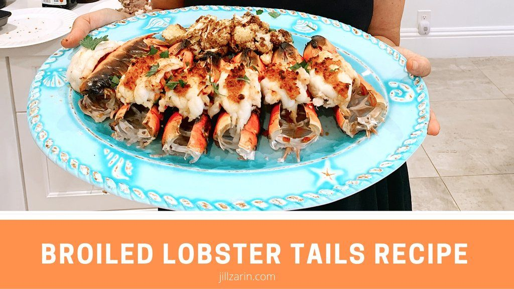 Delicious Broiled Lobster Tails