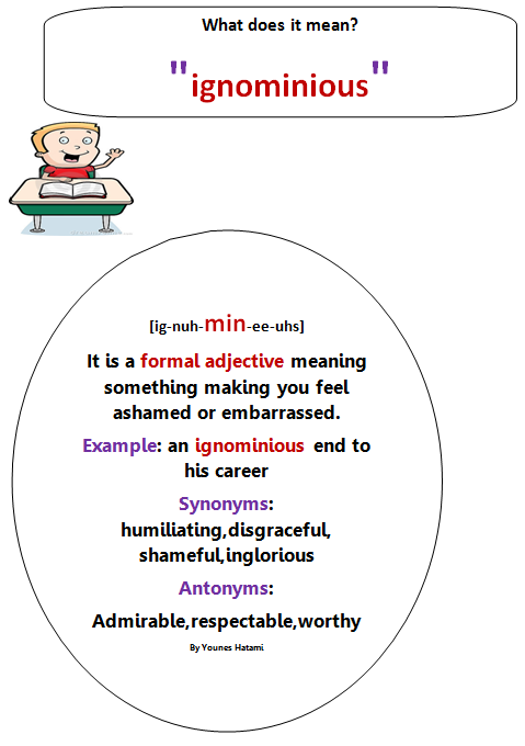 Where Vocabulary Of Autism Is Failing >> Ignominious Especially Of Events Or Behaviour
