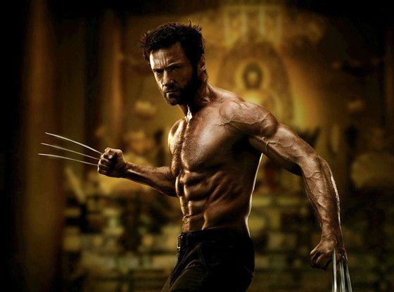 Hugh Jackman, The Wolverine (2013).. yes, please!