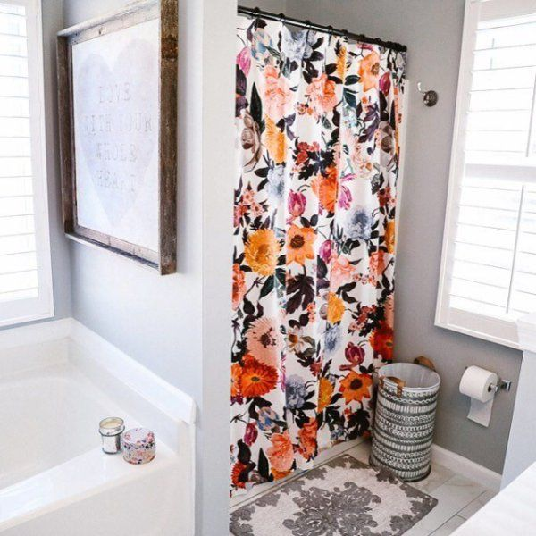 Agneta Shower Curtain Apartment Bathroom Bathroom Decor