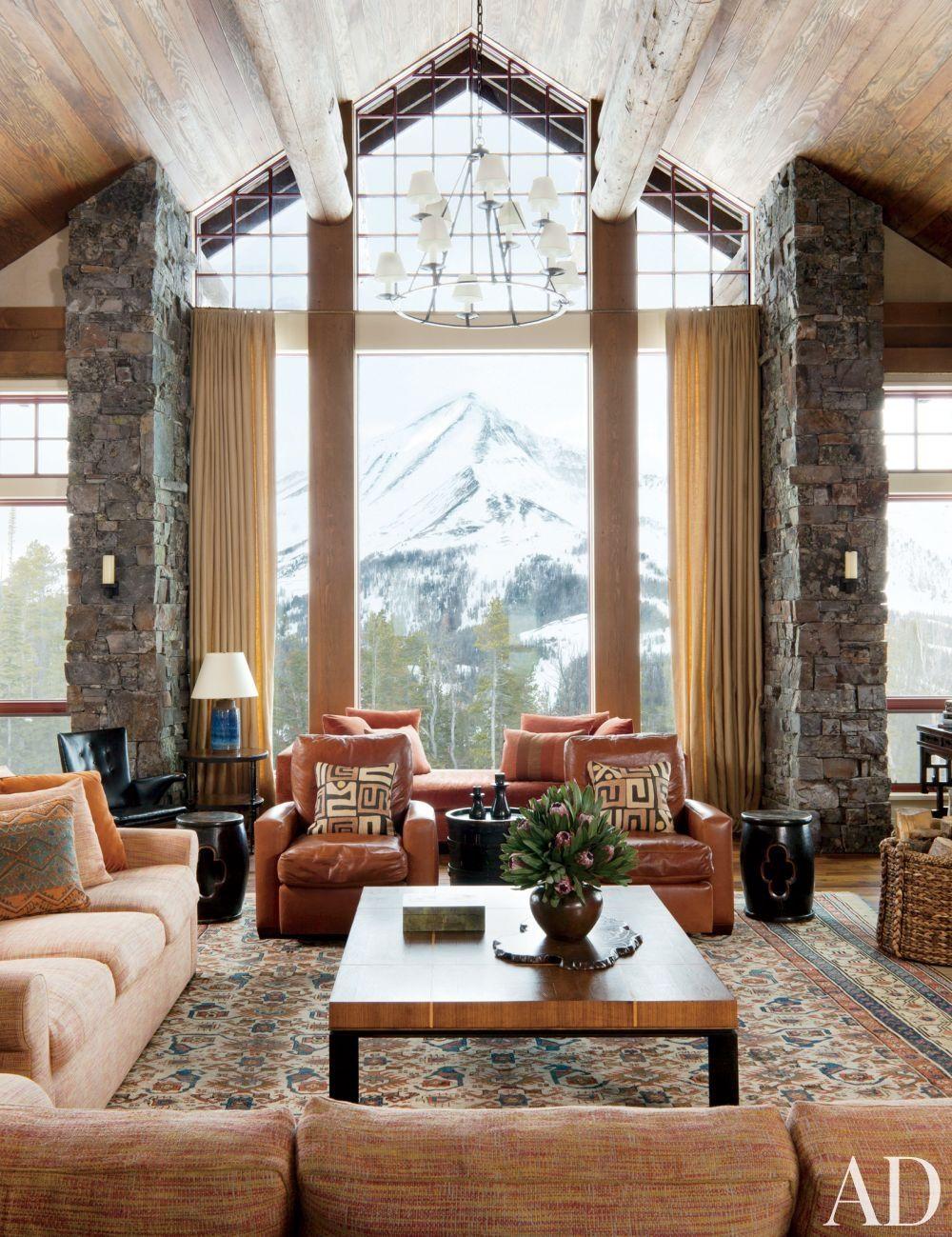 Center Stage Via Archdigest Designfile Living Room Decor