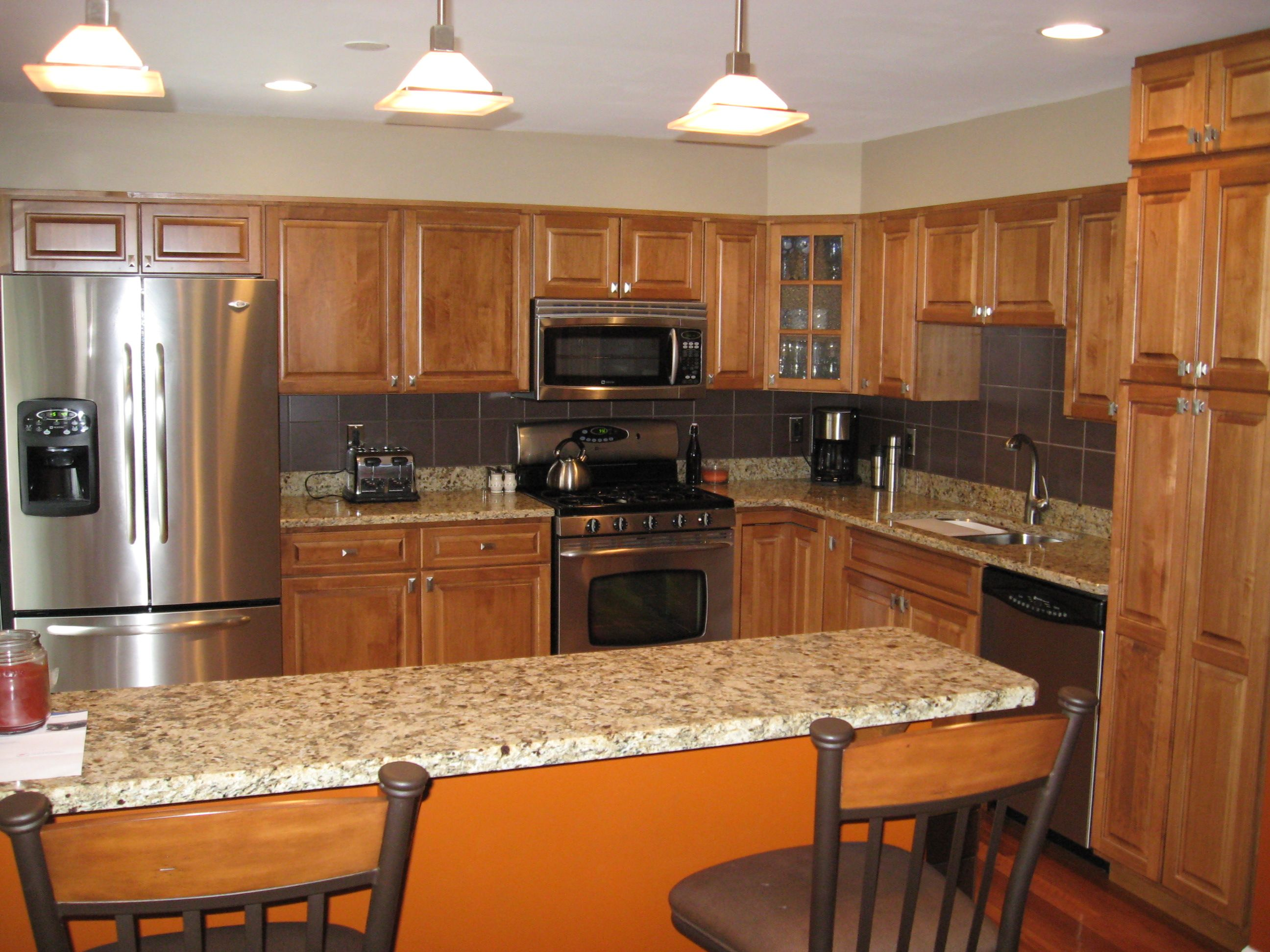 good Pictures Of Small Kitchen Remodels #6: 17 Best images about Kitchen Remodels on Pinterest | White cabinets, Small  kitchens and Cabinets