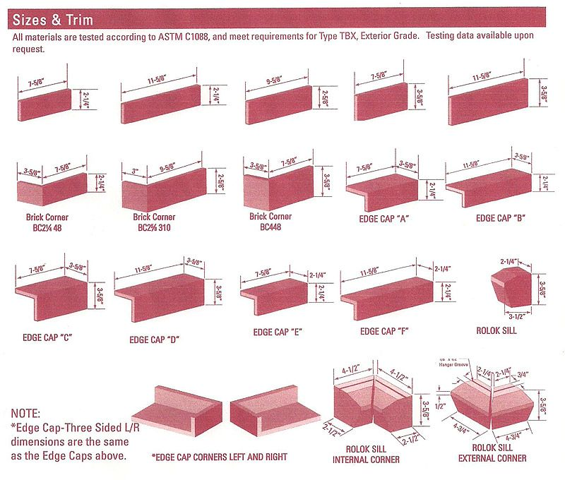 Standard brick veneer dimensions continuing education for 1 2 inch brick veneer