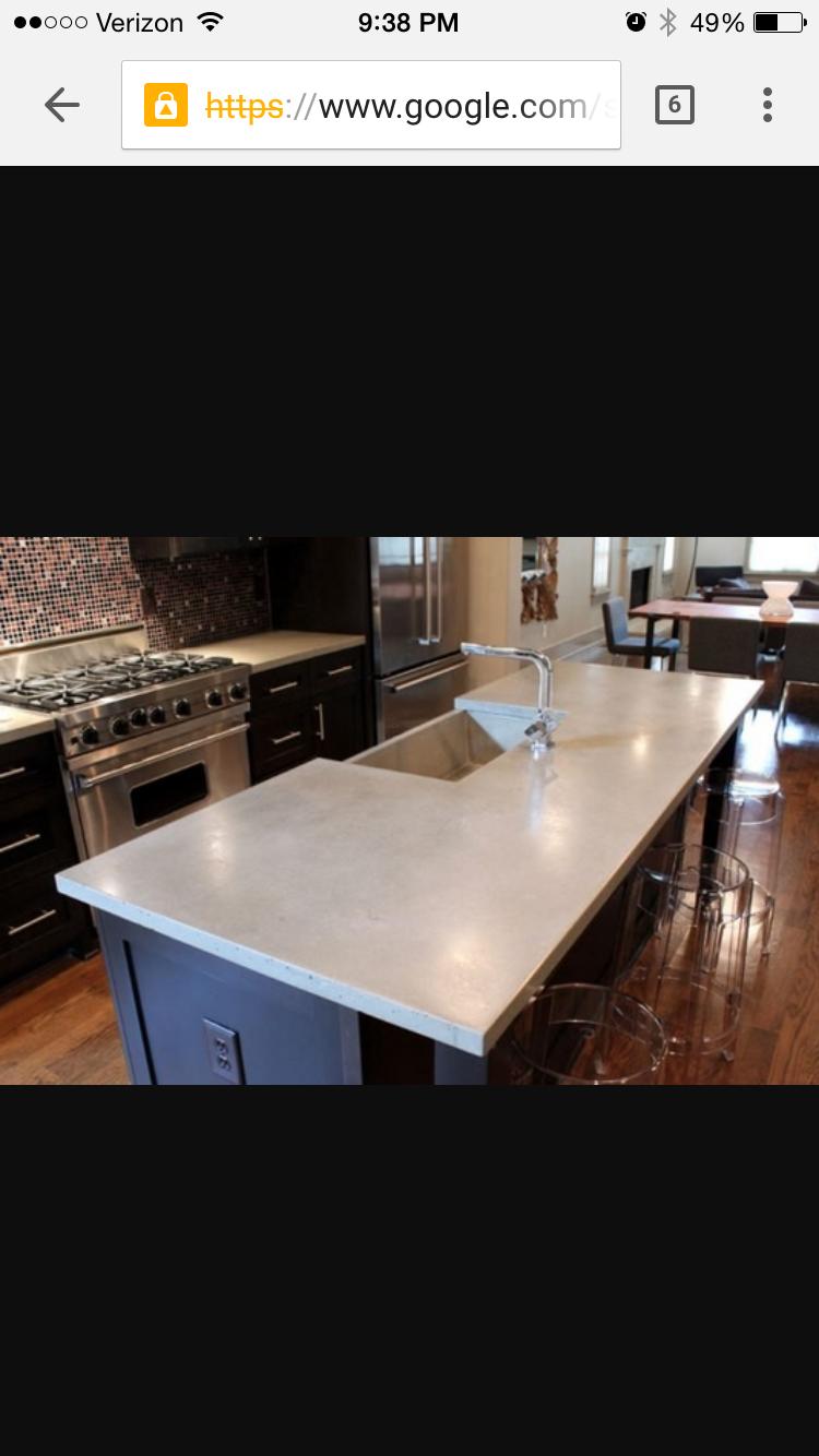 concrete counters?