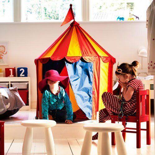 NEW IKEA CIRKUSTALT CHILDREN/'S TENT A LOT OF FUN FOR KIDS