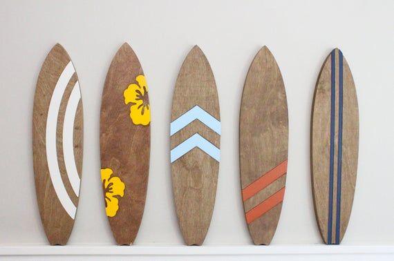 Surf decor, beach decor, retro, surf, vintage, wal