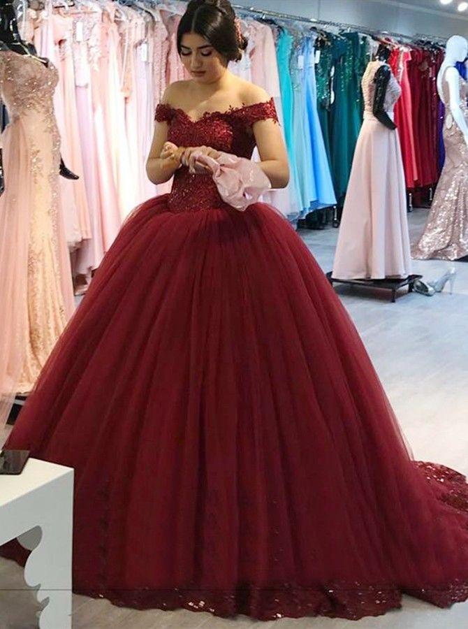 Pin De Maira R En Sweet 16 En 2019 Vestidos Guindas