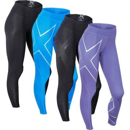 6aa37d37f31b0 My Triathlon - 2XU - Mid Rise Compression Tights - Women's,  67.50 (http