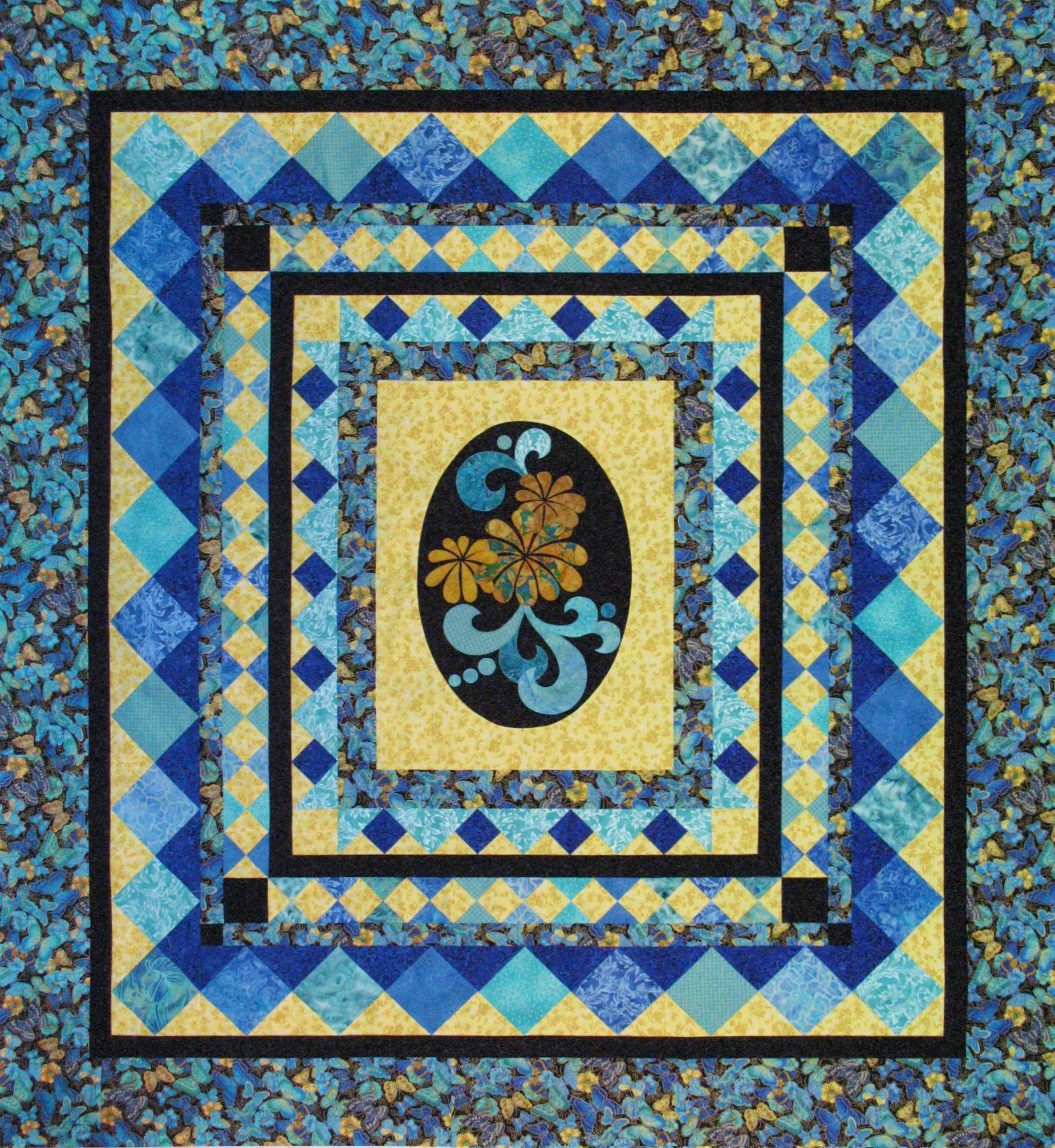 Garden Dance | Quilt Patterns | Pinterest