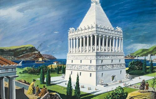 The 7 Wonders of the Ancient World : Mausoleum Maussollos