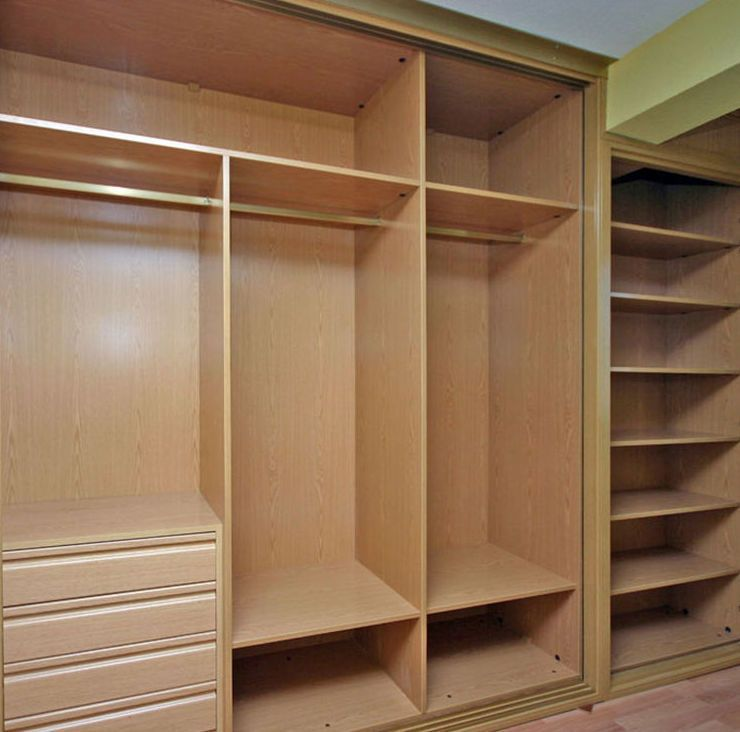 Resultado de imagen para closet empotrados carpinter a for Organizar armarios empotrados